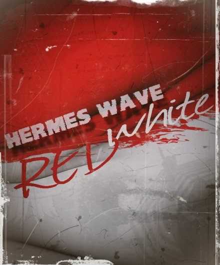 Hermes WAVE Red White